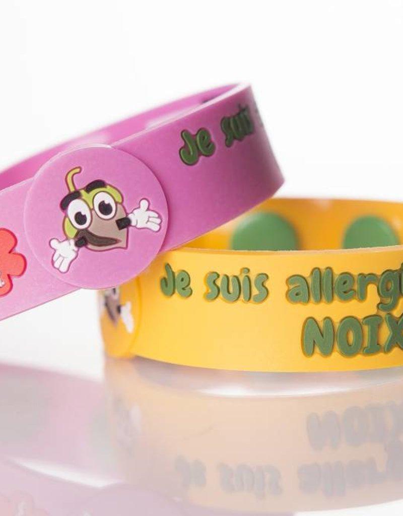 Secallergies Bracelet d'allergie : Noix