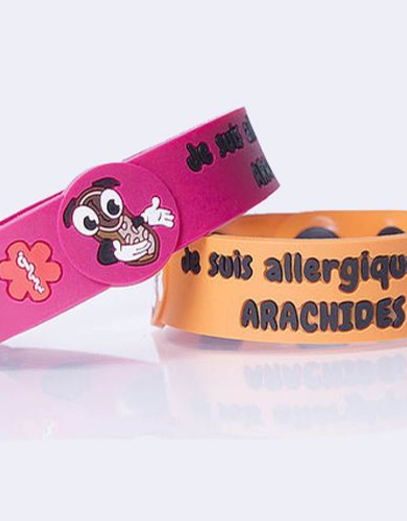 Secallergies Bracelet d'allergie : Arachides