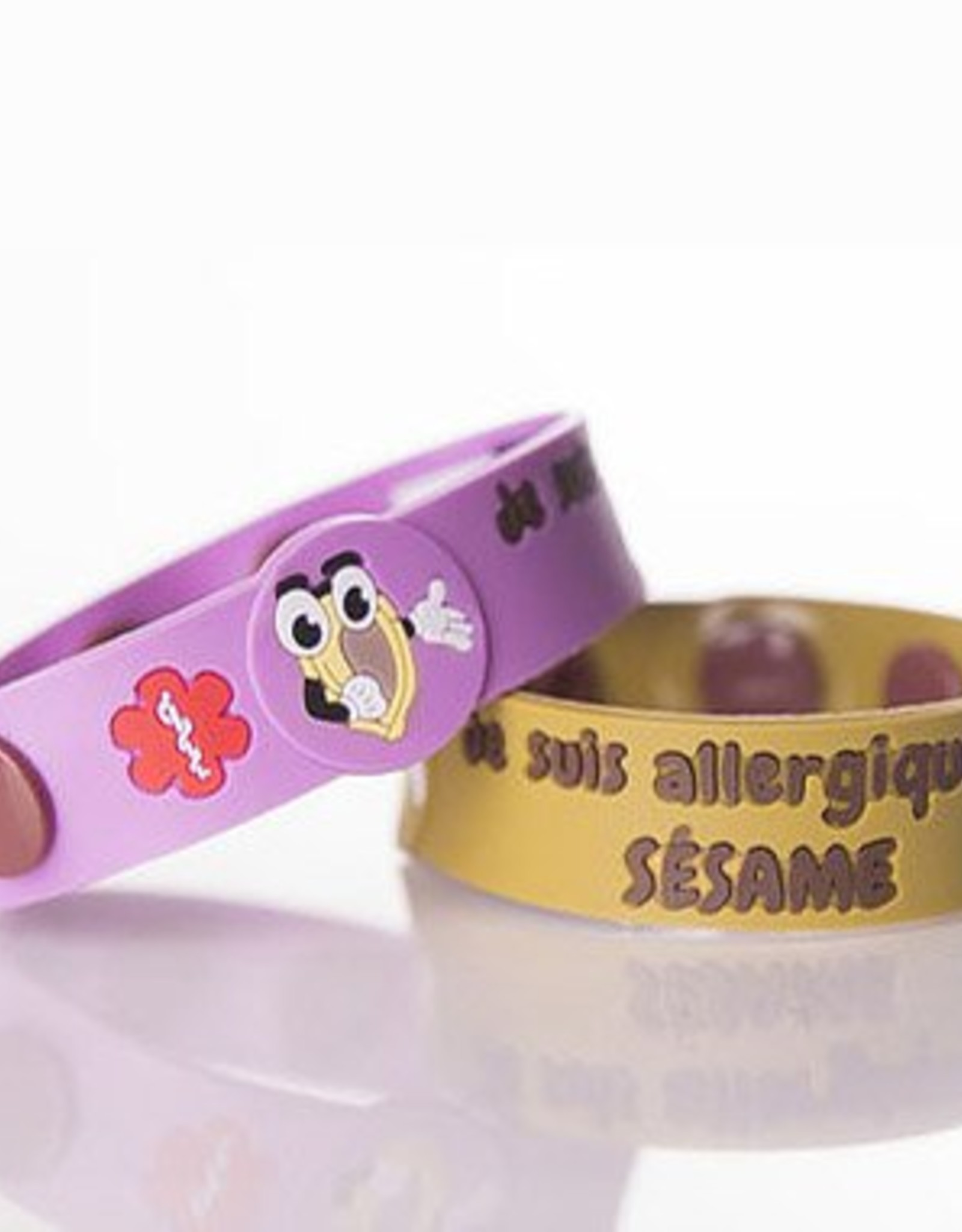 Secallergies Bracelet d'allergie : Sésame
