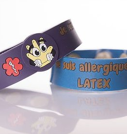 Secallergies Bracelet d'allergie : latex