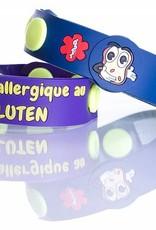 Secallergies Bracelet d'allergie : Gluten