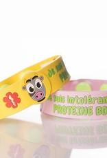 Secallergies Bracelet d'allergie : Protéine bovine