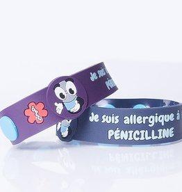 Secallergies Bracelet d'allergie : Pénicilline