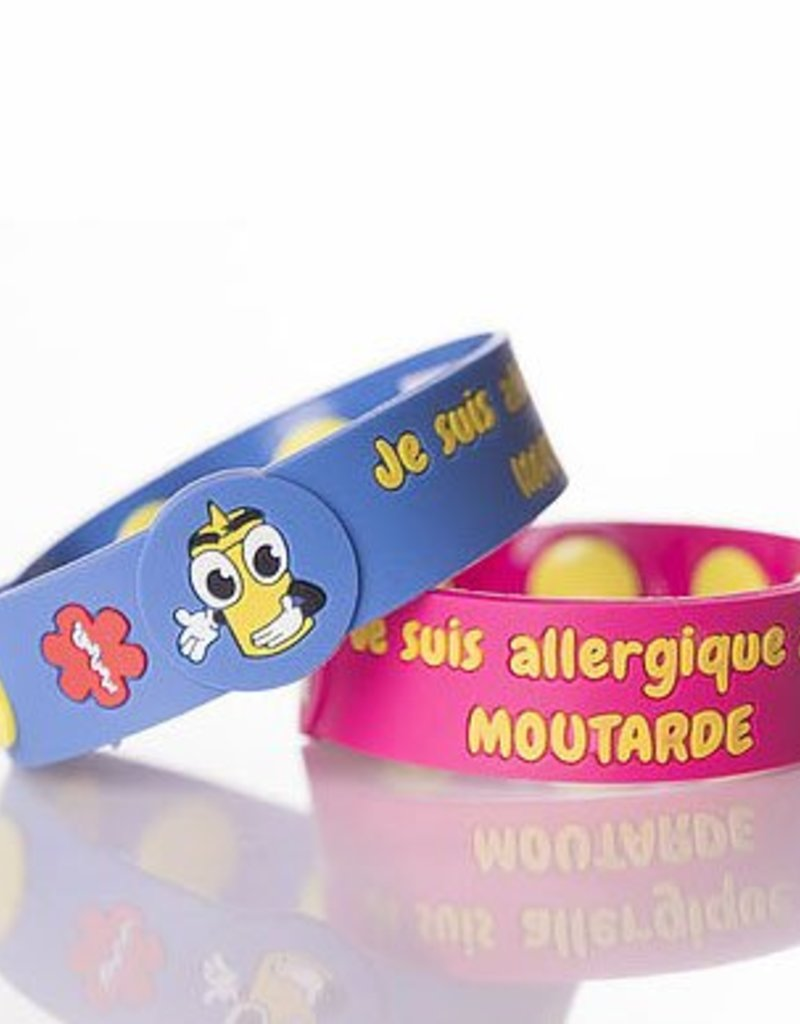 Secallergies Bracelet d'allergie : Moutarde
