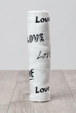 Lulujo Doudou mousseline bambou love