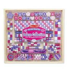 Melissa et Doug Ensemble de perles en bois collection de luxe