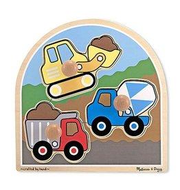 Melissa et Doug Casse-tête gros boutons camion