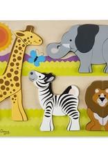 Melissa et Doug Casse-tête à grosses pièces - safari
