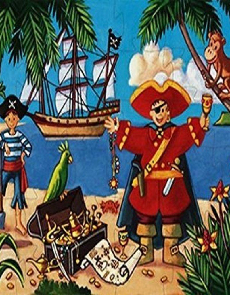 Djeco Casse-tête Le Pirate et son trésor