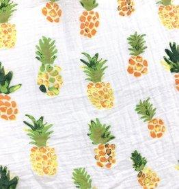 Face de Pet Doudou en mousseline Ananas