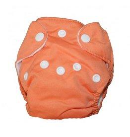 La petite Ourse Couche nouveau-né tout en un Orange