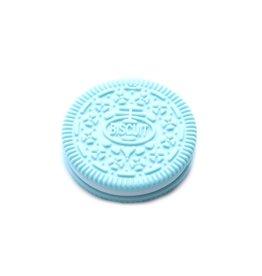 Bulle Bijouterie pour mamans Jouet de dentition Biscuit Bleu pâle