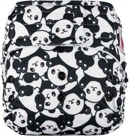 Elf Couche à poche sans insert Happy panda velcro