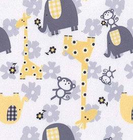 Oops Doudou étiquette en minky Girafe