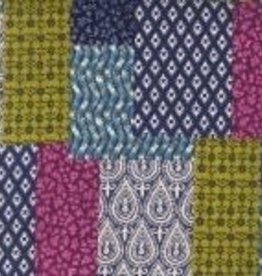 Nneka Oreiller pour enfant en sarrasin patchwork