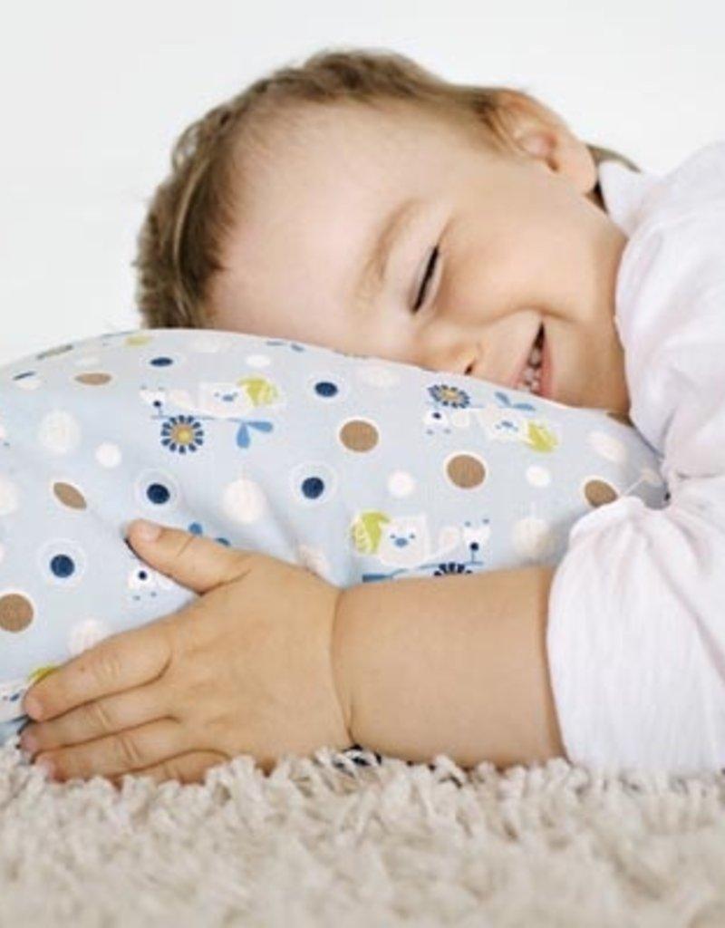 oreiller pour enfants en sarrasin lamas vert limette. Black Bedroom Furniture Sets. Home Design Ideas