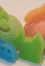 Loot toy co Bombes de bain parfumées et colorées à l'unité
