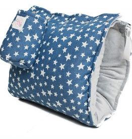 G&B maternité Manchon d'allaitement régulier Étoiles denim
