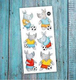 Pico Tatouage Tatouage temporaire Rico le joueur de soccer