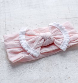Mini Bretzel Bandeau Marguerite Blush