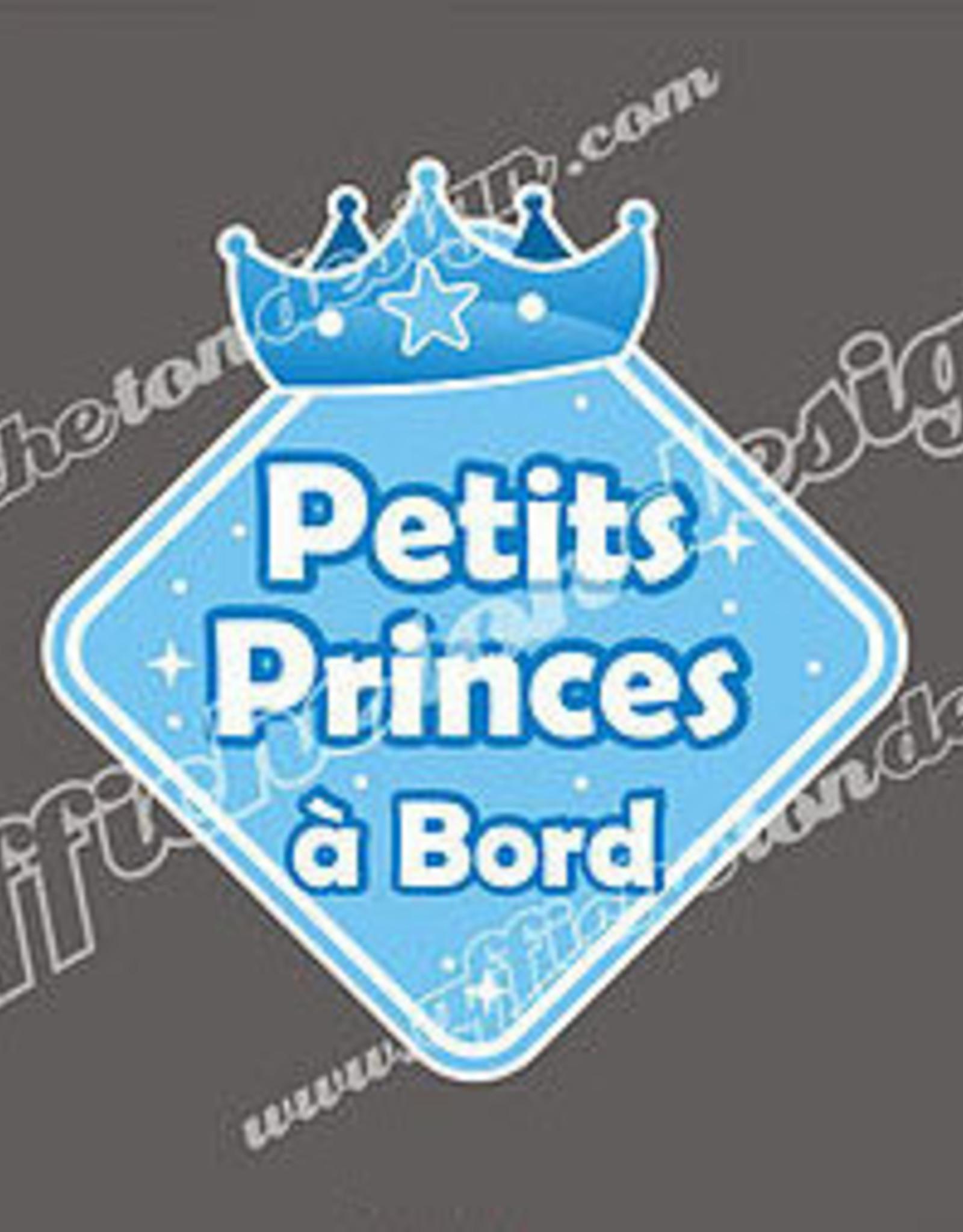 Affiche ton Design Autocollant Petits princes à bord