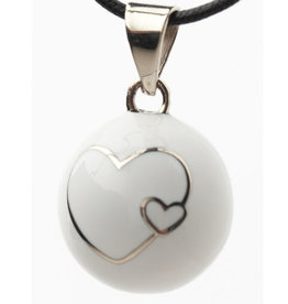 Baby's best design Bola coeur blanc