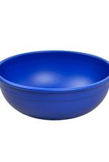 Re play Bol large en plastique recyclé bleu foncé
