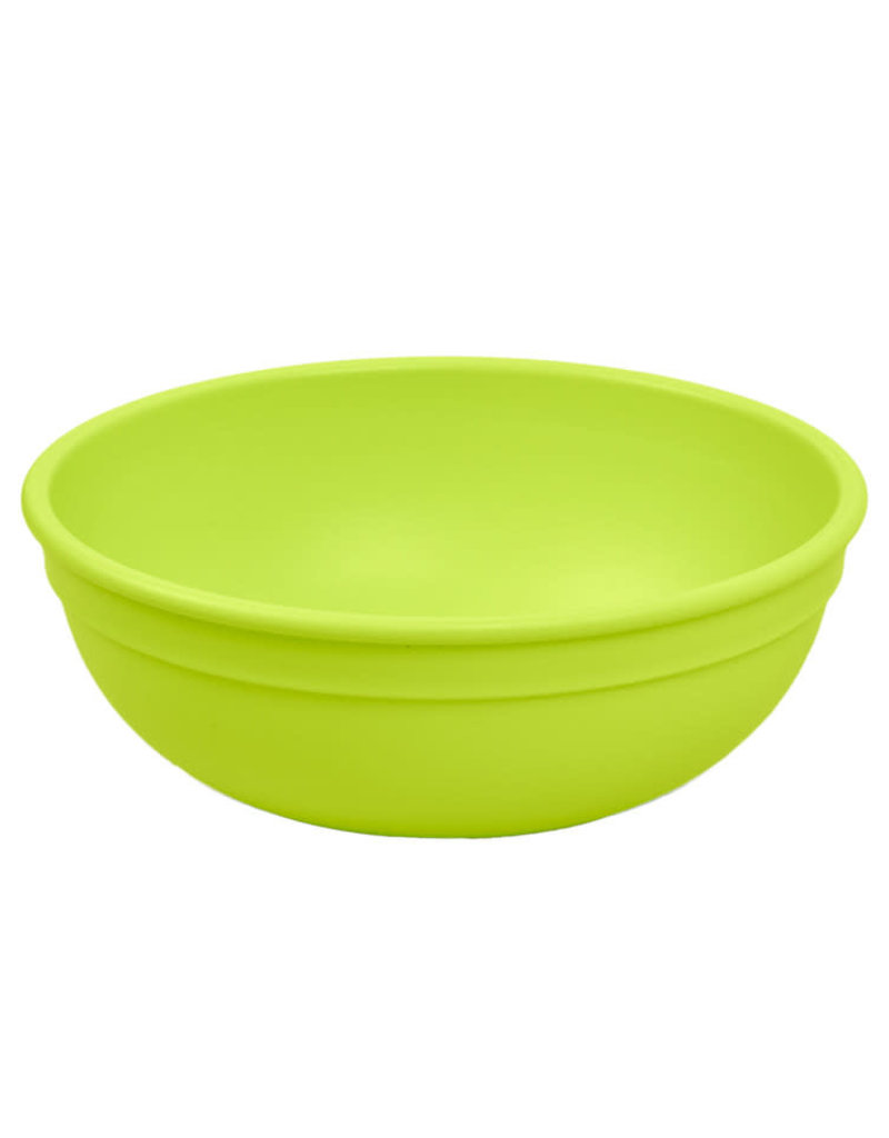 Re play Bol large en plastique recyclé vert limette 20 oz
