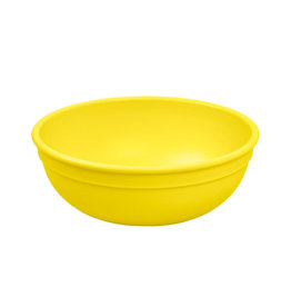 Re play Bol large en plastique recyclé Jaune 20 oz