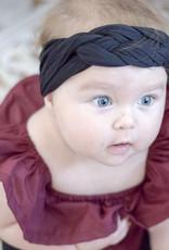 Mini Bretzel Bandeau Twinning Mommy Noir