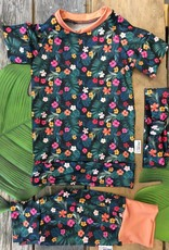 Coton Vanille Maillot évolutif hibiscus