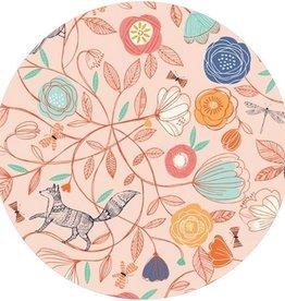 Nneka Oreiller pour enfant en sarrasin renard rose