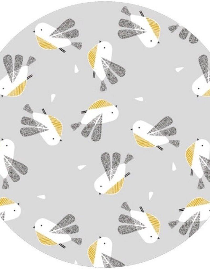 Nneka Coussin d'allaitement en sarrasin oiseaux