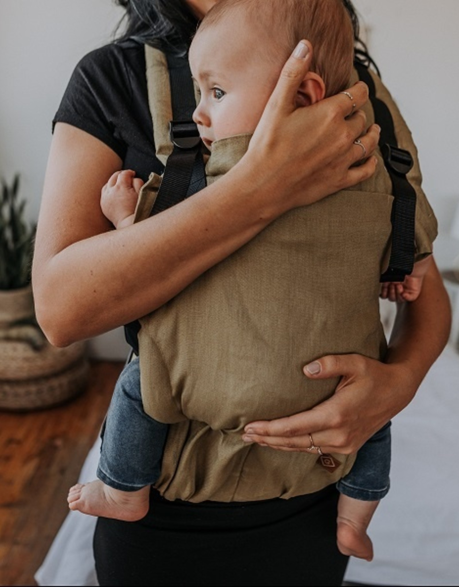 Gustine Porte-bébé évolution en lin Équilibre