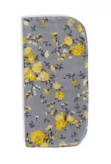 Minihip Lingette en flanelle - Fleur jaune