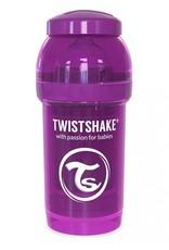 Twistshake Biberon anti-coliques 180 ml Mauve Small
