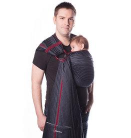 Chimparoo Ring sling Taille 2 épaule sans plis Onyx