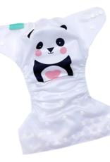 Face de Pet Couche à poche Panda (motif exclusif)