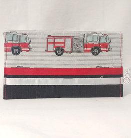 Oops Protège carnet de santé - Camion de pompier