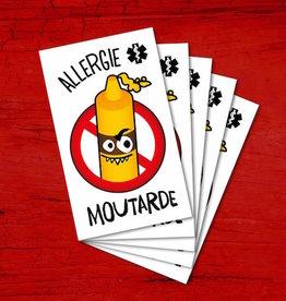 Pico Tatouage Tatouage temporaire Chasseur de monstres Allergie moutarde