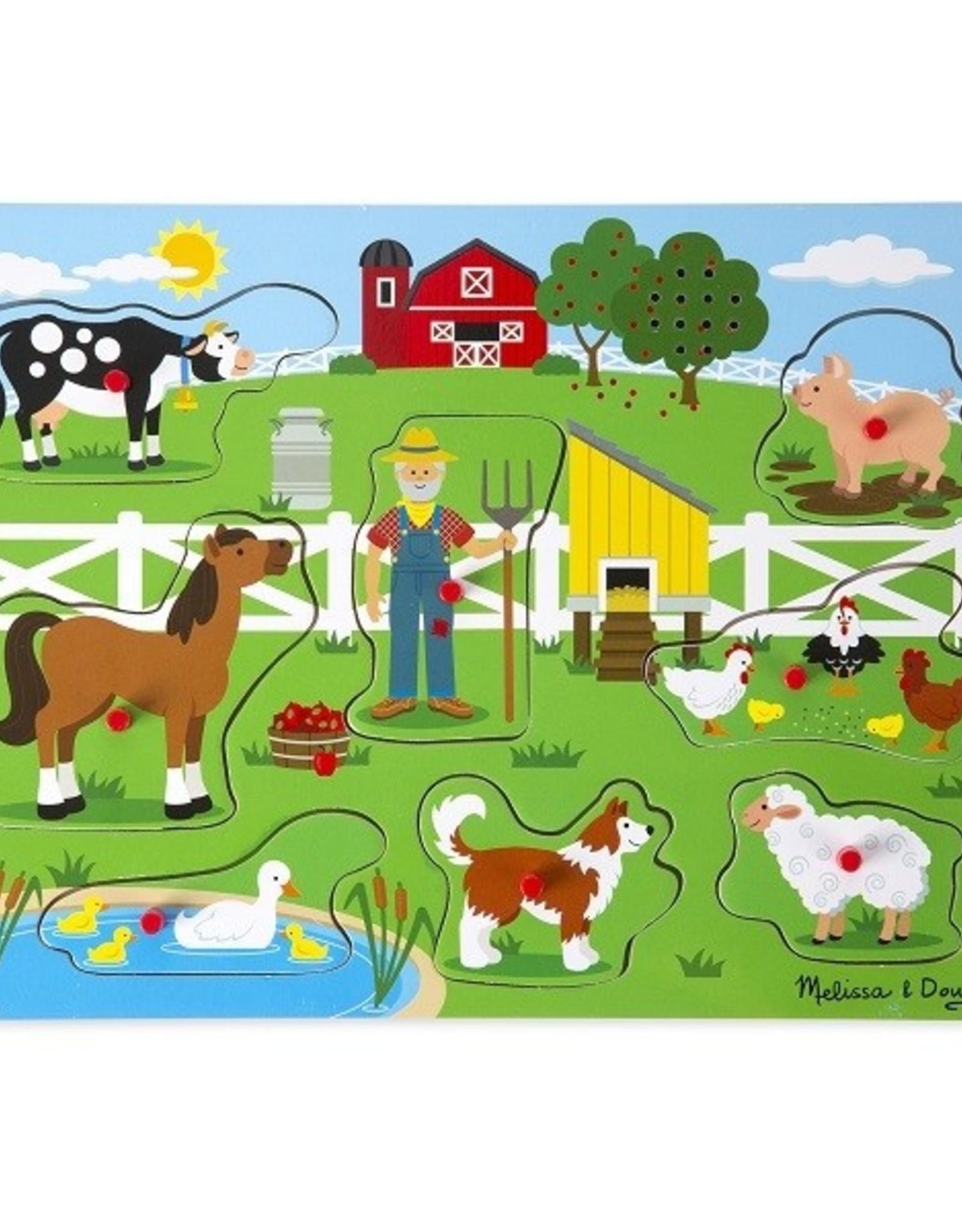 Melissa et Doug Casse-tête musical old macdonald's farm