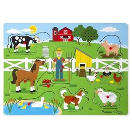 Melissa et Doug Casse-tête musical old macdonald's farm
