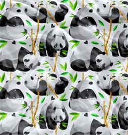 Oops Doudou en minky panda et bambou