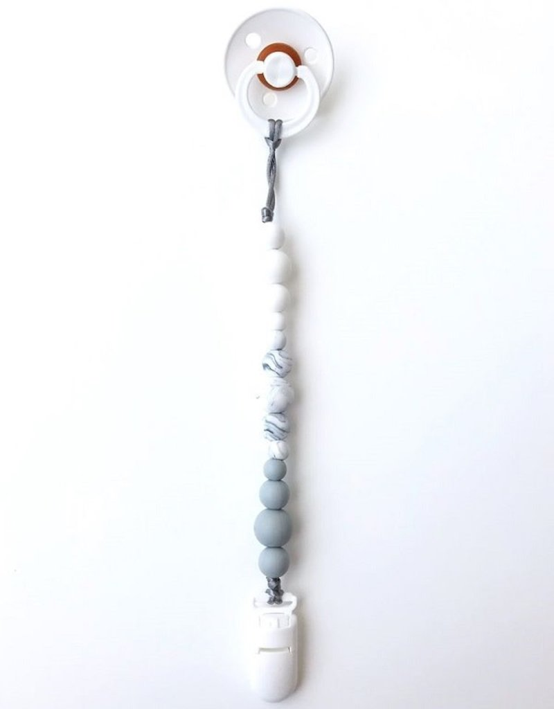 Jululu Bijoux Attache-suce minimaliste monochrome