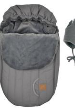 Perlimpinpin Couvre-siège de voiture hiver gris