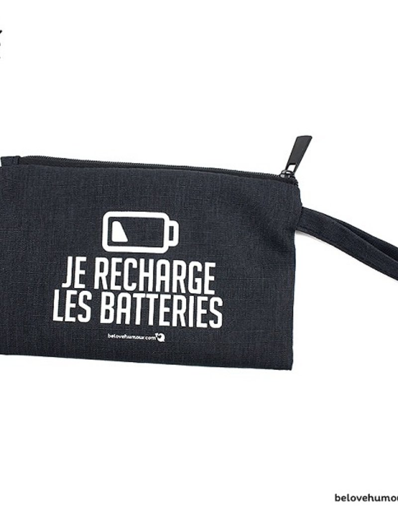 Bedaine love Sac  à collation Je recharge les batteries