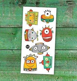 Pico Tatouage Tatouage temporaire Les Robots Rigolos