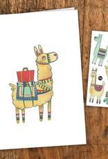 Pico Tatouage Carte de souhait- Noah l'Alpaga