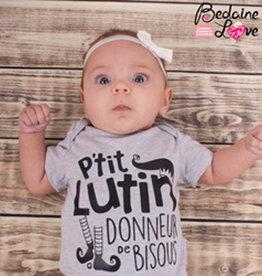 Bedaine love Cache-couche P'tit lutin donneur de bisous