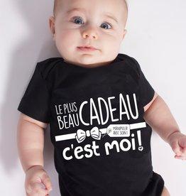 Bedaine love Cache-couche Le plus beau cadeau c'est moi!